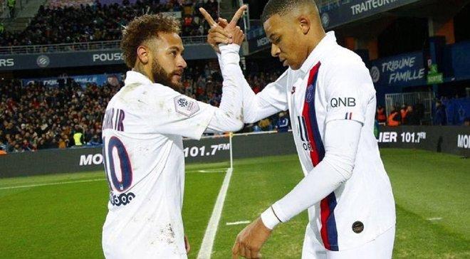 Лига 1: ПСЖ в большинстве уничтожил Сент-Этьен, Лион неожиданно уступил Ренну