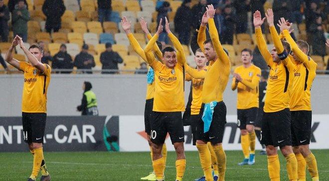 Леоненко похвалил Александрию за игру в Лиге Европы