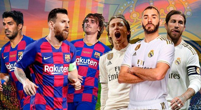Барселона – Реал Мадрид: відеотрансляція Ель Класіко