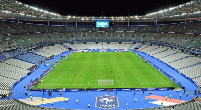 Франция – Украина: утверждено место проведения матча
