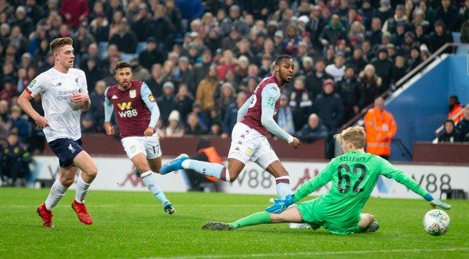 Ливерпуль на кубковый матч с Астон Виллой выставил самый молодой состав в истории клуба