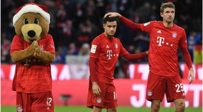 Коутиньо играет за Баварию в детской форме из-за недальновидности клуба