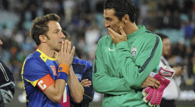 Буффон побив рекорд Дель П'єро за матчами за Ювентус у Серії А