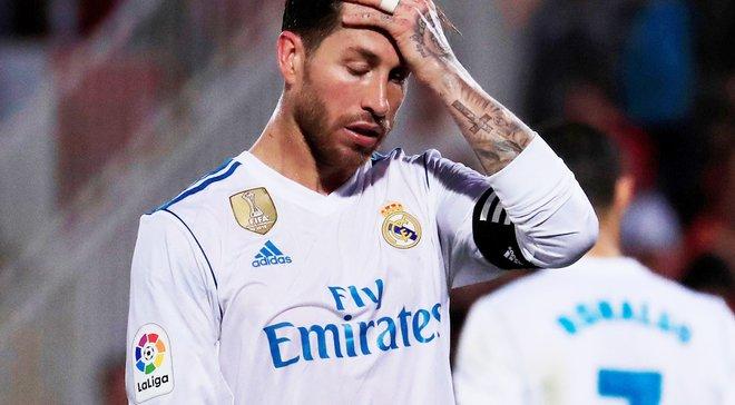 Рамос получил травму в матче против Барселоны