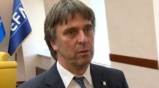 Грімм не буде переобиратись на посаду президента УПЛ