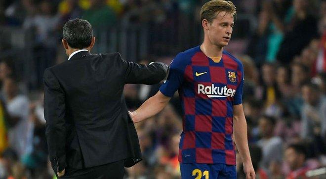 Барселона подписала де Йонга вопреки желанию Вальверде