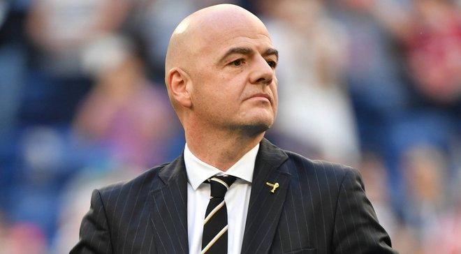 Президент ФІФА запропонував повернутись до обговорення ідеї щодо створення мультинаціональних ліг