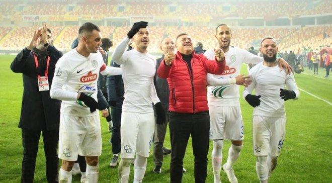 Морозюк помог Ризеспору одержать неожиданную победу в чемпионате Турции