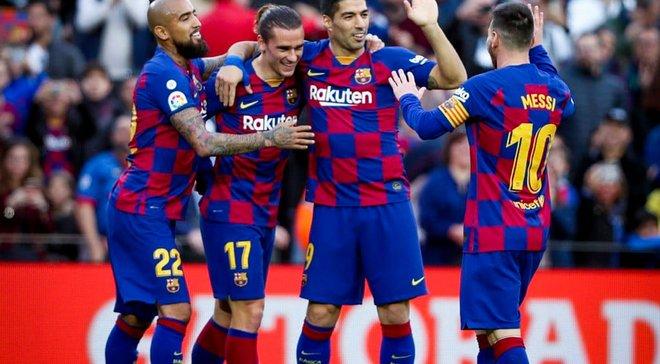 """Барселона у рідних стінах розгромила Алавес – """"блаугранас"""" завершили рік на вершині турнірної таблиці Ла Ліги"""