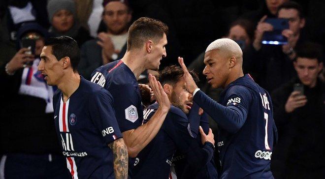 Лига 1: ПСЖ разгромил Амьен благодаря голам звездного трио, Монако уничтожил Лилль