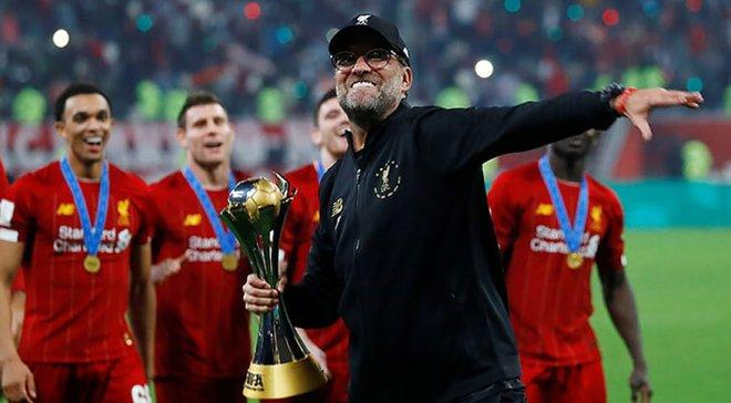 Клопп емоційно відреагував на тріумф Ліверпуля на клубному чемпіонаті світу