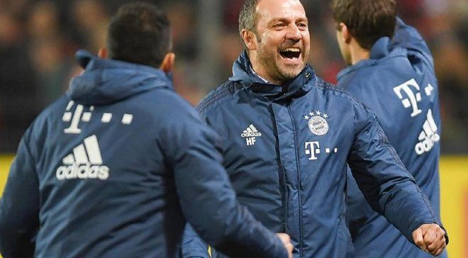 Бавария официально назначила Флика главным тренером до конца сезона