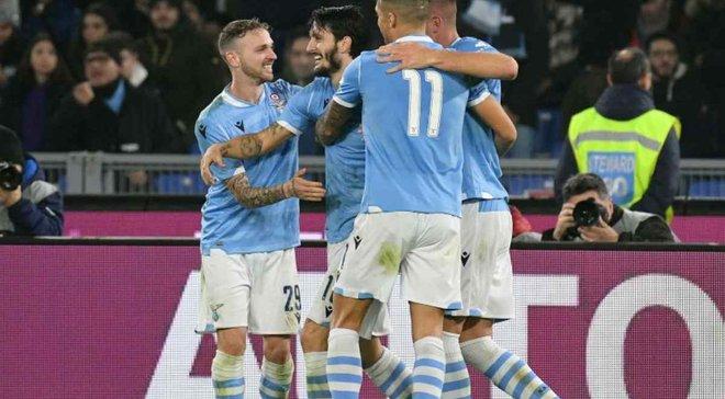 Лацио в напряженном поединке переиграл Ювентус и стал обладателем Суперкубка Италии