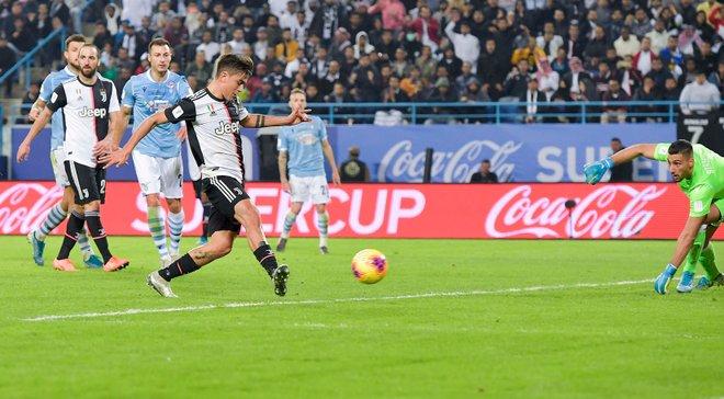 Дибала стал лучшим бомбардиром в истории Суперкубка Италии – аргентинец обогнал Шевченко