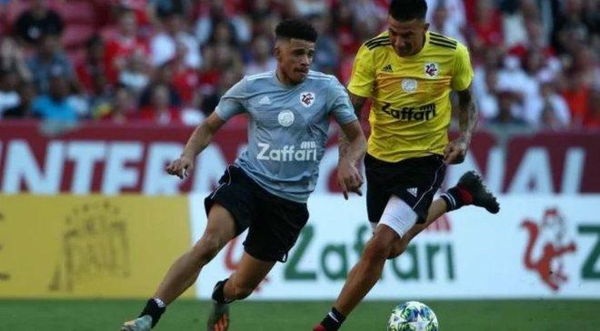 Тайсон забил гол легенде Милана в благотворительном матче