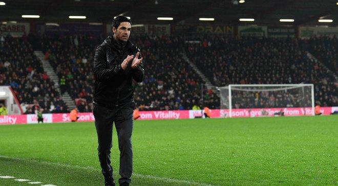 Артета – о дебютном матче в Арсенале: Я доволен многими вещами, которые увидел
