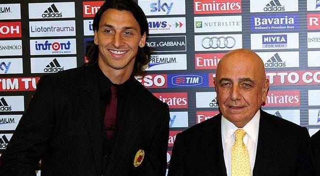 Галлиани: После перехода в ПСЖ Ибрагимович не разговаривал со мной некоторое время – он не хотел уходить из Милана
