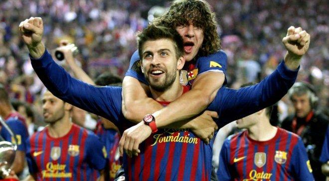 """Пуйоль та Піке згадали тріумфальний рік Барселони – легенди """"блаугранас"""" розкрили секрет успіху команди при Гвардіолі"""