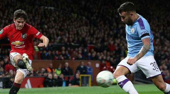 Шедевр Бернарду и курьезный автогол в видеообзоре матча Манчестер Юнайтед – Манчестер Сити – 1:3