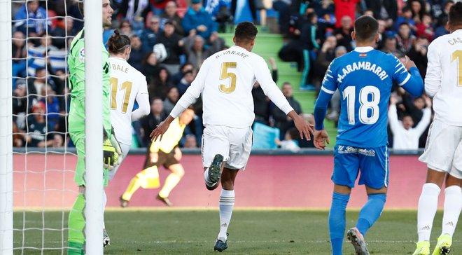 Дубль Варана і вражаючий забіг Модріча на пів поля у відеоогляді матчу Хетафе – Реал – 0:3