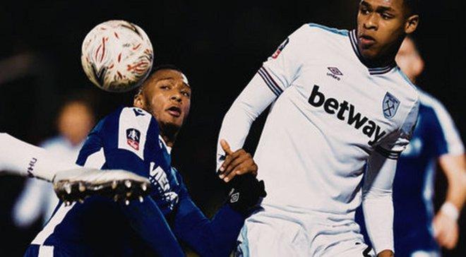 Вест Хэм обыграл Гиллингем и прошел в следующий раунд Кубка Англии – конкурент Ярмоленко был заменен в первом тайме