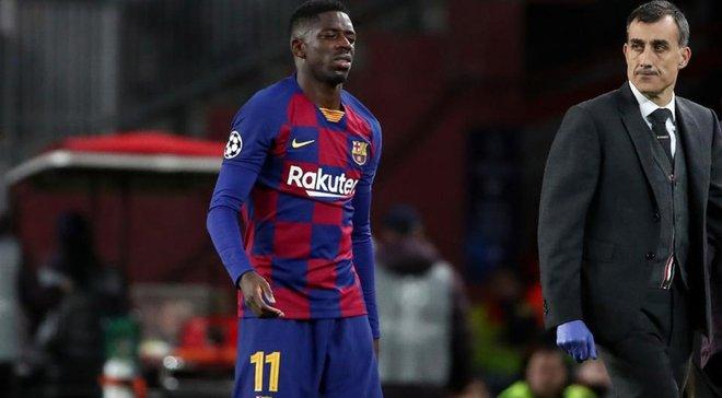 Дембеле флиртует с Ливерпулем после 0:4, а Барселона уже определилась с его будущим