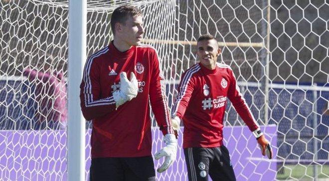Вальядолид отказывается возвращать Лунина в Реал – украинец попал в патовую ситуацию