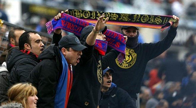 Фанаты Барселоны скандировали нацистские лозунги во время игры молодежки