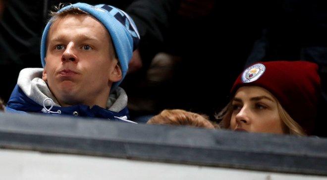 Зинченко смотрел дерби на трибуне Олд Траффорд рядом с фанами Манчестер Сити – они в восторге