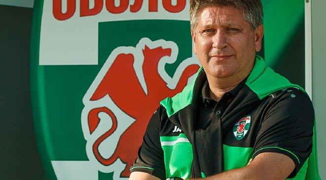 Ковалец покинул Оболонь-Бровар – он стал лучшим тренером 2019-го года в Первой лиге