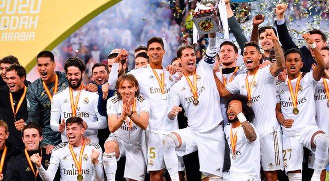"""Реал Мадрид – Атлетико: овертаймы спасли дерби, полузащита """"бланкос"""" выиграла Суперкубок, а Куртуа передал привет Лунину"""