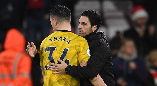 Артета: Думаю, я убедил Джаку остаться в Арсенале