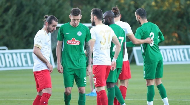 Гармаш дебютировал за Ризеспор – команда упустила победу на последних минутах матча против Акхисара