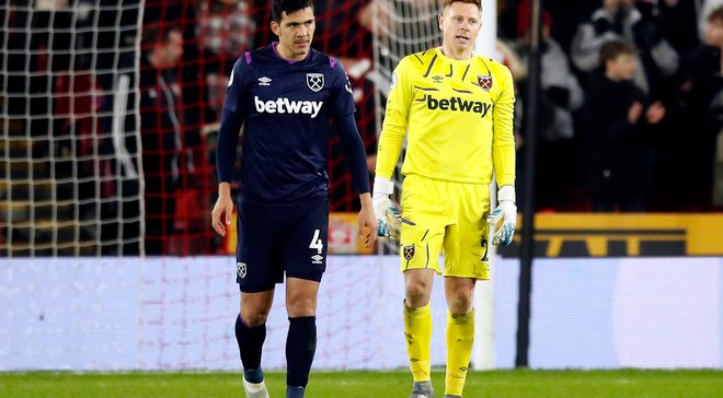 Ганебна помилка партнерів Ярмоленка у відеоогляді матчу Шеффілд Юнайтед – Вест Хем