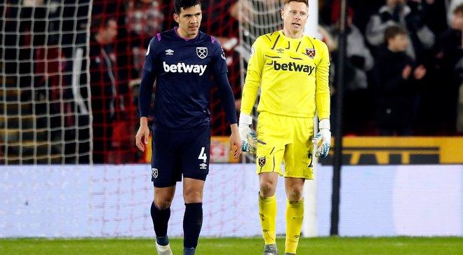 Позорная ошибка партнеров Ярмоленко в видеообзоре матча Шеффилд Юнайтед – Вест Хэм