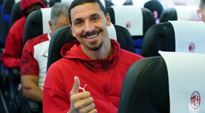 Ибрагимович впервые выйдет в старте Милана после своего возвращения