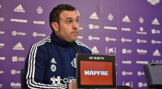 Вальядолид готов отпустить Лунина несмотря на перфоманс украинца в Кубке Испании, – Серхио Гонсалес