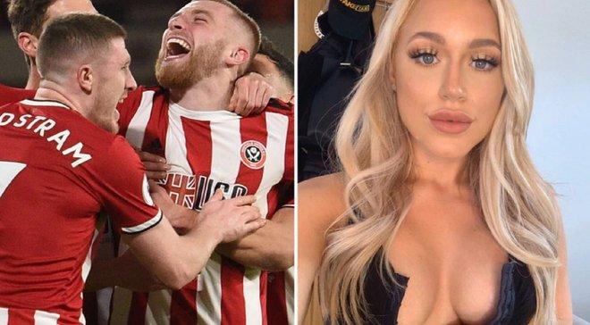 Форвард Шеффілд Юнайтед похуліганив на матчі Чемпіоншипу: відома порнозірка вирішила пофліртувати з бунтівником – 18+