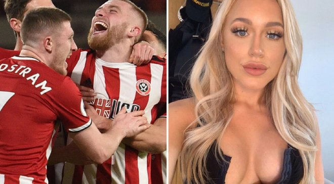 Форвард Шеффилд Юнайтед похулиганил на матче Чемпионшипа: известная порнозвезда решила пофлиртовать с бунтовщиком – 18+