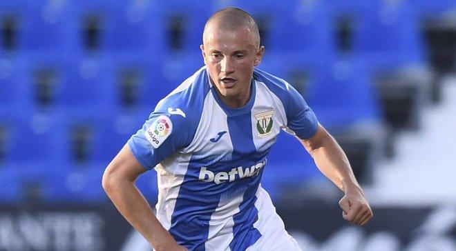 Леганес ищет новый клуб для Кравца – украинец сам попросил его отпустить