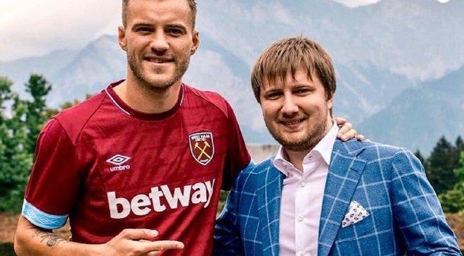 Шаблий прокомментировал информацию о желании Вест Хэма отпустить Ярмоленко в другой клуб