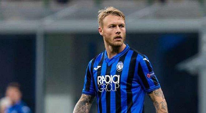 Милан арендовал Кьяера до конца сезона – датчанин провел в Аталанте Малиновского всего полгода