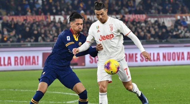 Рома – Ювентус: Роналду изысканным финтом оставил в дураках Смоллинга
