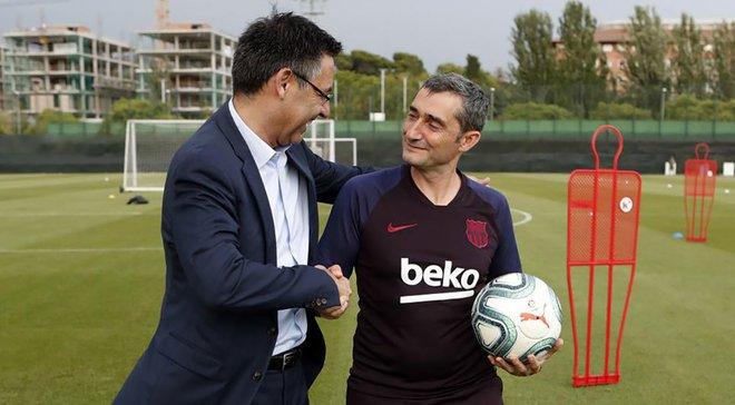 Барселона уволила тренера в течении сезона впервые за 17 лет