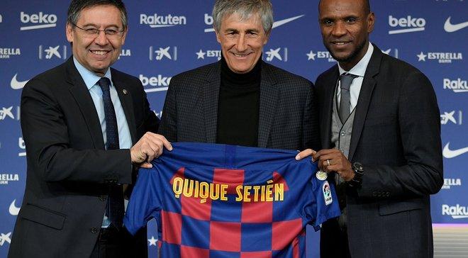Сетьен – о назначении в Барселону: Вчера я пас коров в селе, а сегодня тренирую лучших игроков в мире