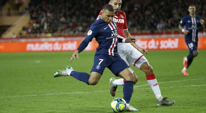 ПСЖ разгромил Монако благодаря голам Мбаппе, Неймара и Сарабии, Ренн дожал Ним: Лига 1, матчи среды