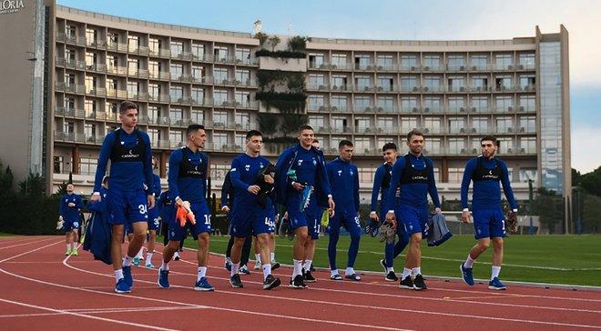 Динамо узнало имя первого соперника на втором тренировочном сборе