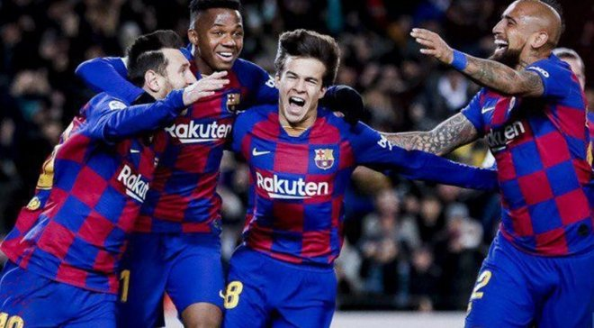 Розкішна комбінація підопічних Сетьєна у відеоогляді матчу Барселона – Гранада – 1:0