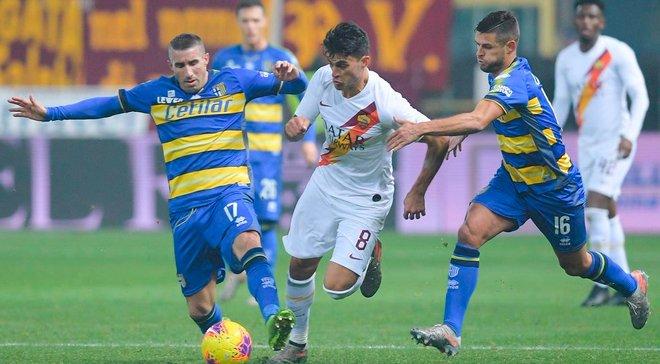 Рома уверенно обыграла Парму и стала последним четвертьфиналистом Кубка Италии