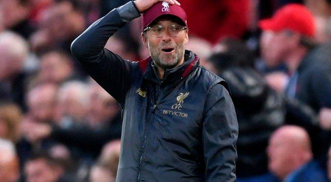 Клопп розкритикував стиль гри Манчестер Юнайтед